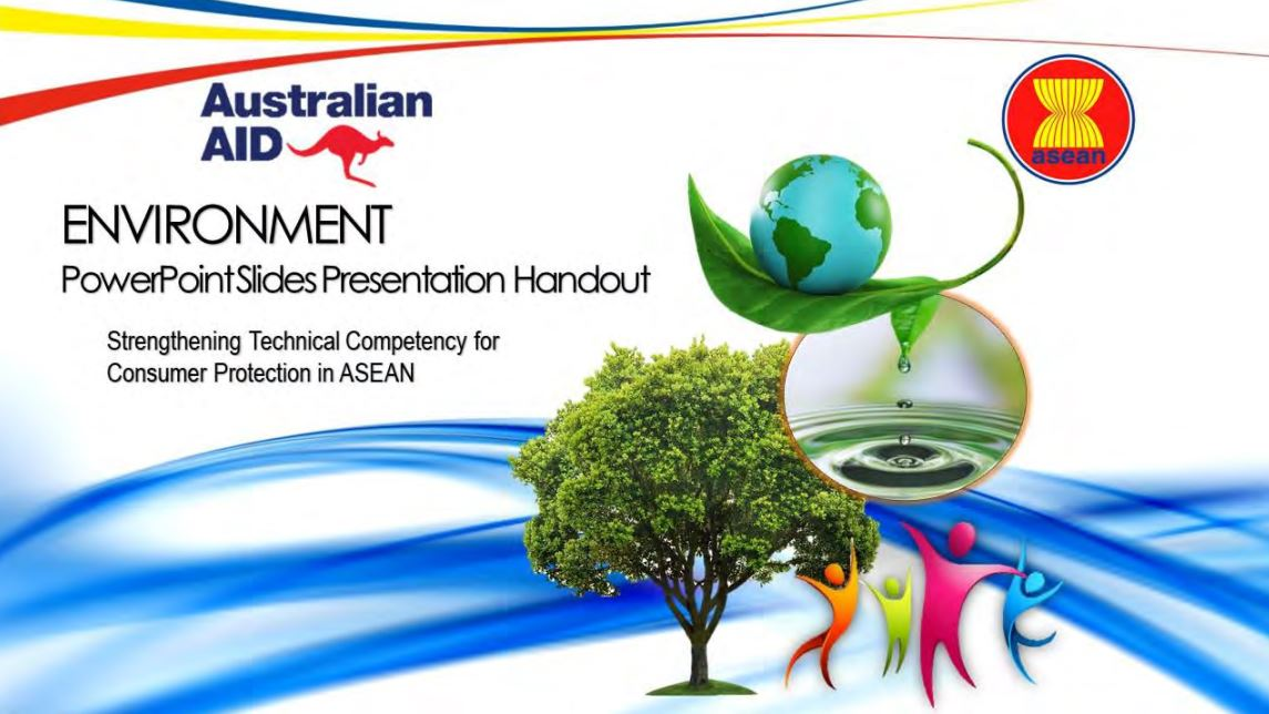 ASEAN Training Manuals on Environment