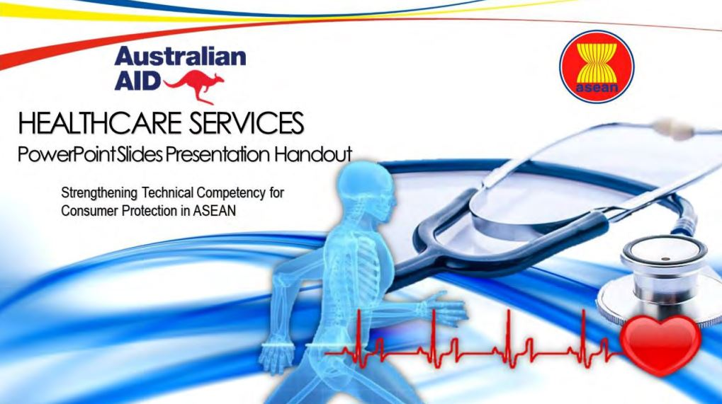 ASEAN Training Manuals on Healthcare Services