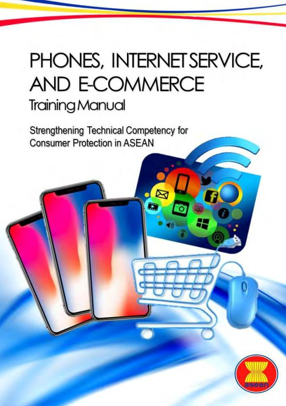 ASEAN Training Manuals on Phones, Internet Service and E-Commerce