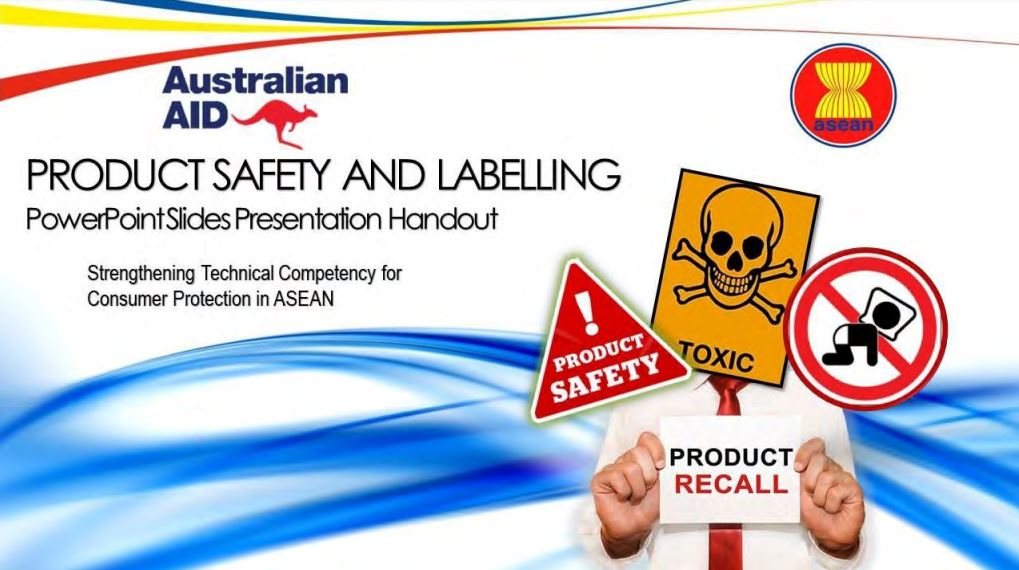 ASEAN Training Manuals on Product Safety and Labelling